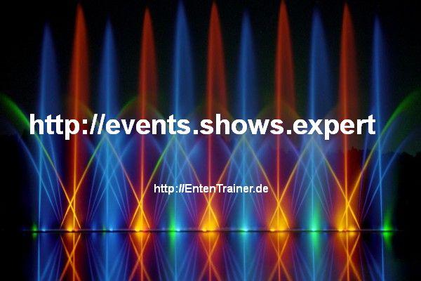 Wassereffekte / Wasserorgeln / Wasserspiele / Wassershows